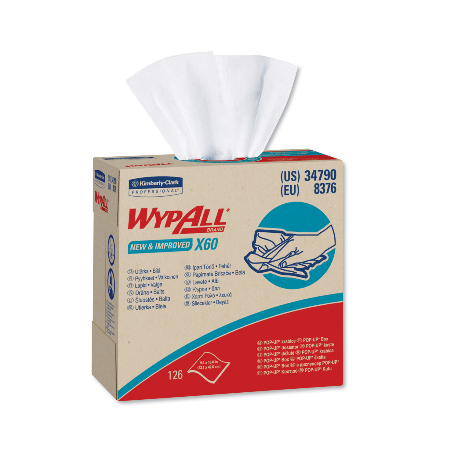 WypAll® 34790