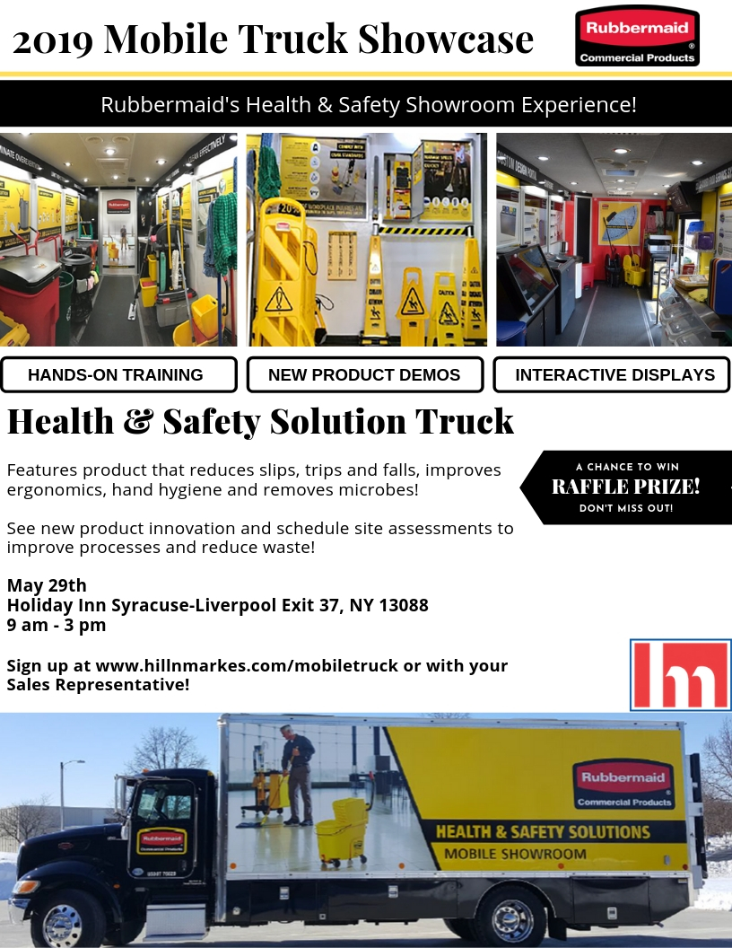 Hill & Marke Rubbermaid Mobile Truck Invite