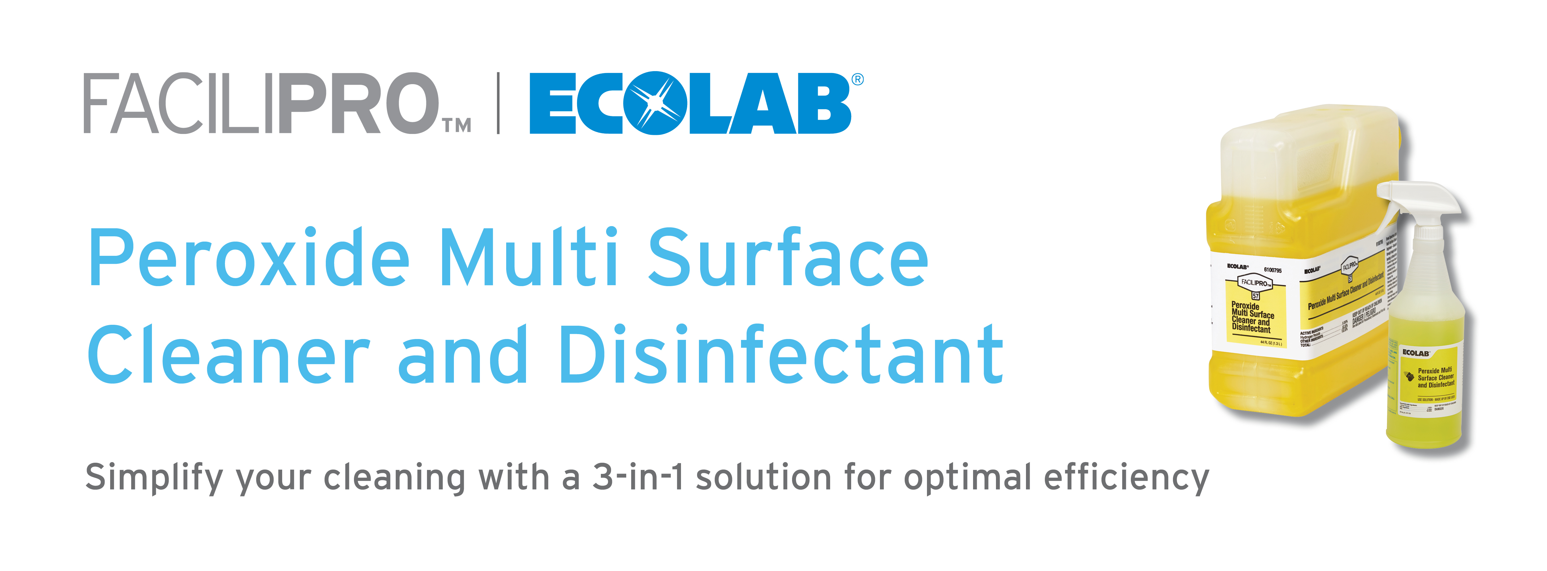 EcoLab Peroxide Multi Surface Cleaner and Disinfectant